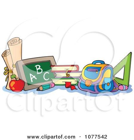 School Items Posters, Art Prints