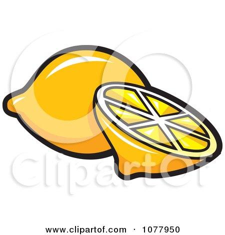 Clipart Secret Message Lemon - Royalty Free Vector Illustration by jtoons