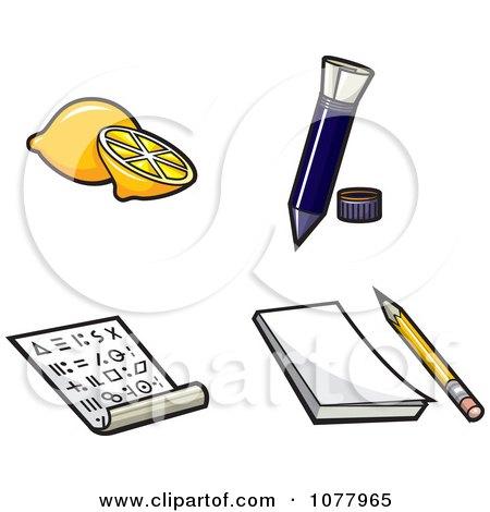 Clipart Secret Messages - Royalty Free Vector Illustration by jtoons