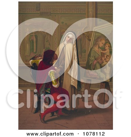 Royalty-Free (RF) Nun Clipart, Illustrations, Vector Graphics #1