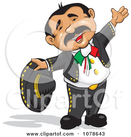 Happy Mexican Rancherito Man Posters, Art Prints