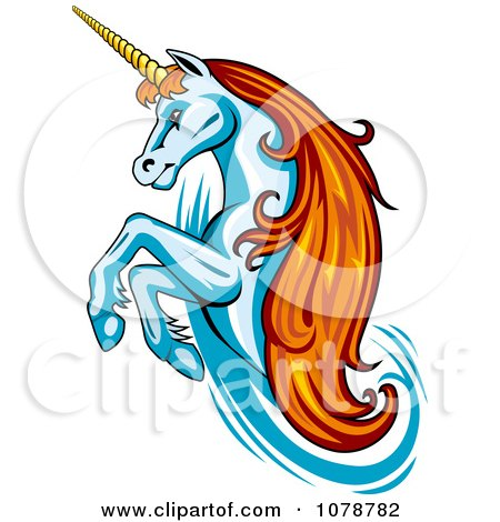 Royalty-Free (RF) Clipart of Unicorns, Illustrations, Vector ...