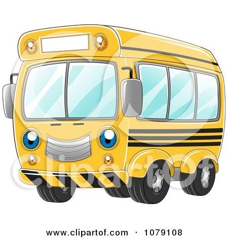 Happy Yellow School Bus Posters, Art Prints