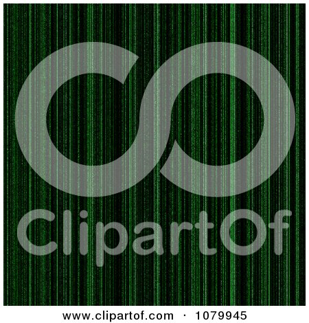 Clipart Green And Black Matrix Background - Royalty Free Illustration by oboy
