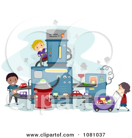 Royalty Free Rf Production Line Clipart Illustrations
