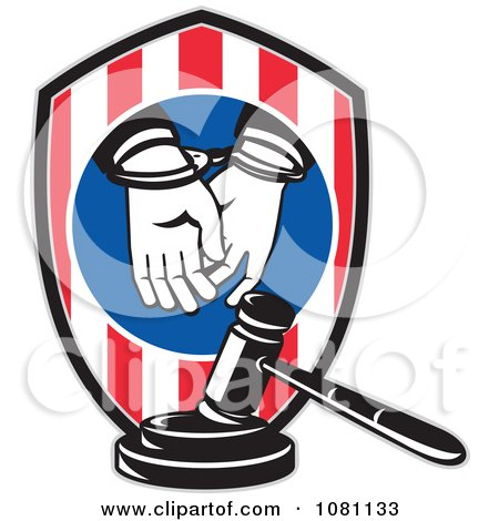 Clipart Retro Prisoner Bailing Out Of Prison Bars - Royalty Free ...
