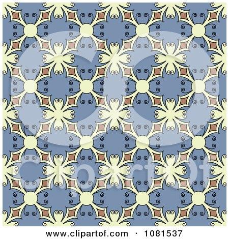 Clipart Seamless Background Pattern Design 9 - Royalty Free Vector Illustration by Frisko