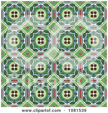 Clipart Seamless Background Pattern Design 6 - Royalty Free Vector Illustration by Frisko