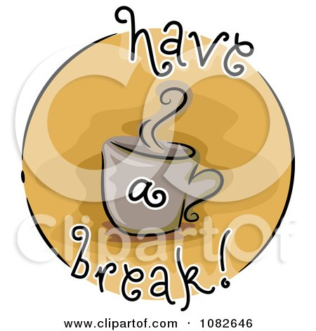 Royalty Free Rf Break Time Clipart Illustrations