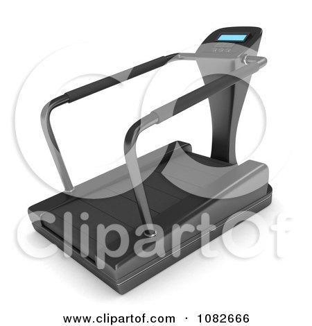 Clipart 3d Gym Treadmill - Royalty Free CGI Illustration by BNP Design Studio