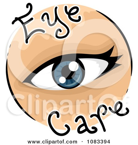 Clipart Eye Care Icon - Royalty Free Vector Illustration by BNP Design Studio