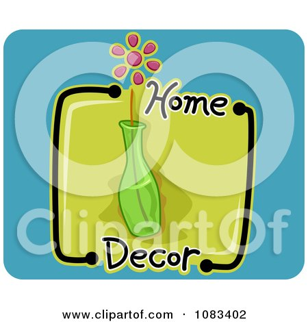 Clipart Home Decor Vase Icon - Royalty Free Vector Illustration by BNP Design Studio