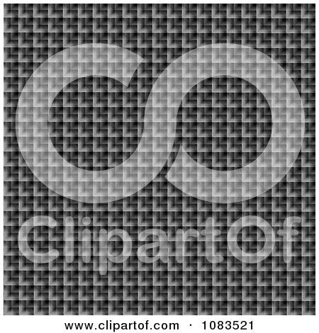 Clipart Textured Metal Mesh Silver Background - Royalty Free CGI Illustration by oboy