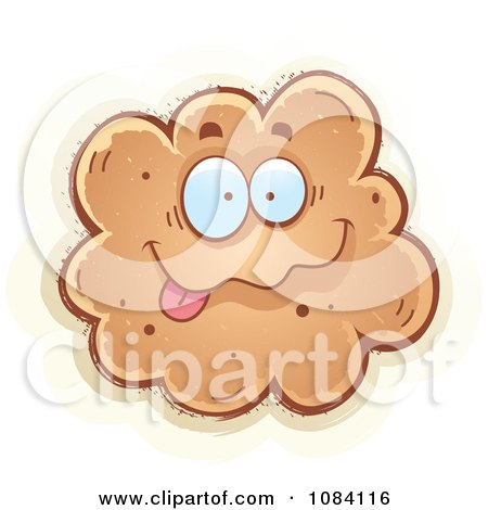 Clipart Goofy Fart Character - Royalty Free Vector Illustration by Cory Thoman