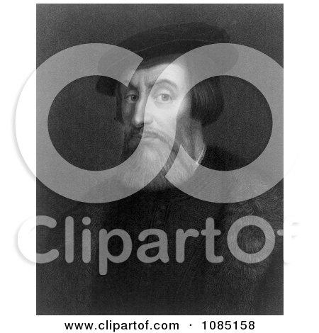 Spanish Conquistador Hernando Cortes Pizarro - Royalkty Free Stock Illustration by JVPD
