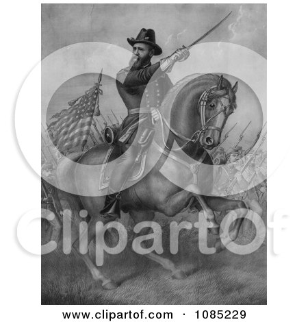 General Benjamin Harrison - Royalty Free Stock Illustration by JVPD
