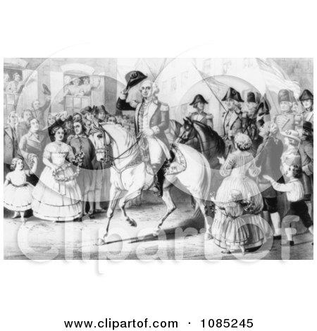 George Washington - Royalty Free Stock Illustration by JVPD