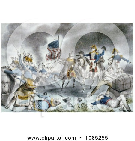 The Battle of New Orleans - Royalty Free Stock Illustration by JVPD