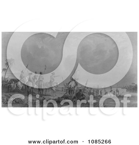 De Soto. Tampa Bay, Florida, 1539 - Royalty Free Stock Illustration by JVPD