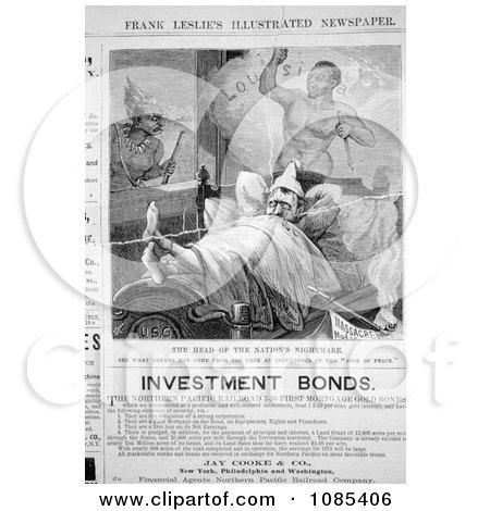 Ulysses S. Grant Dreaming - Free Historical Stock Illustration by JVPD