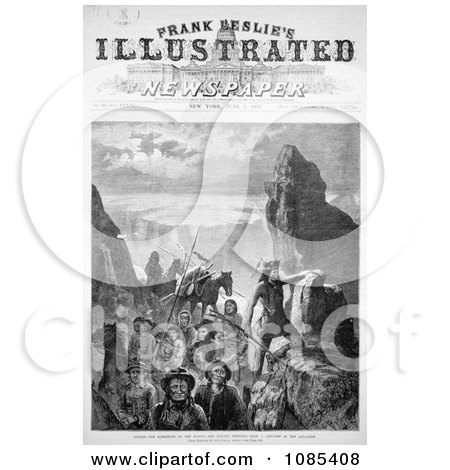 Surrender of the Modocs - Free Historical Stock Illustration by JVPD