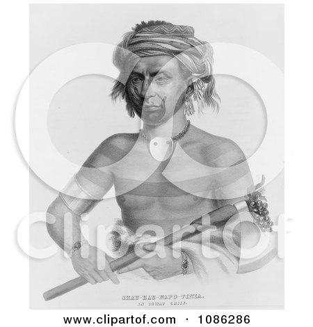 Ioway Indian Chief Named Shau-Hau-Napo-Tinia Posters, Art Prints