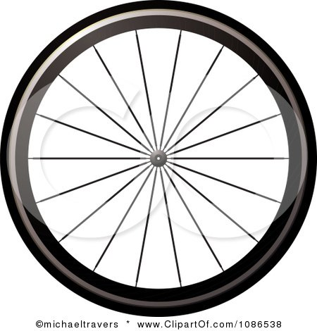 Royalty Free Rf Bike Tire Clipart Illustrations Vector