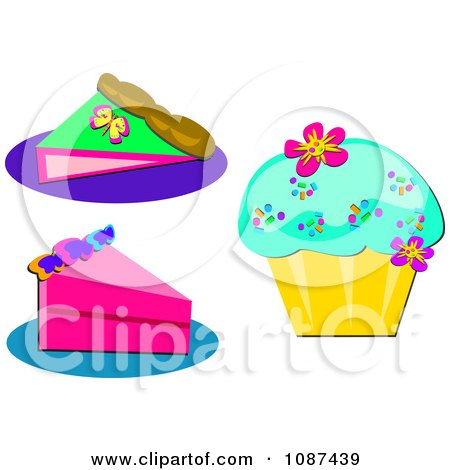 Free Clipart Cakes And Pies Clipart Slice of Pie Cake And