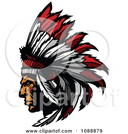 Svg Freeuse Stock Indian Head Dress - Native American Headdress No  Background Clipart (#702978) - PinClipart