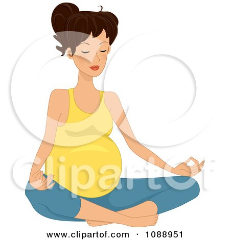 clipart of a sketched yoga practicioner on the lotus pose clip art pregnant woman waiting clip art pregnant woman baby want out