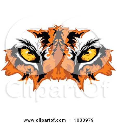 Free Vector Illustration on Mascot Eyes   Royalty Free Vector Illustration By Chromaco  1088979