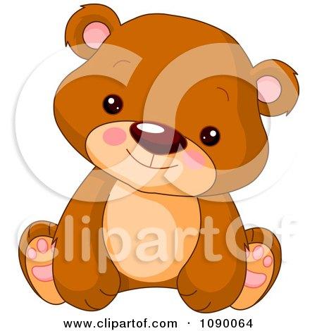 Royalty Free Rf Bear Cub Clipart Illustrations Vector