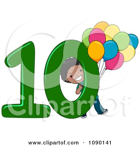 Free Clipart Number 10 - 30.3KB