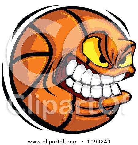 Aggressive Basketball Character Posters, Art Prints
