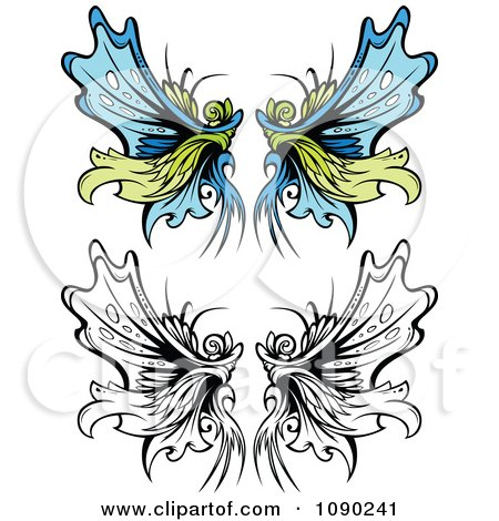 Ornate Fairy Wings Posters, Art Prints