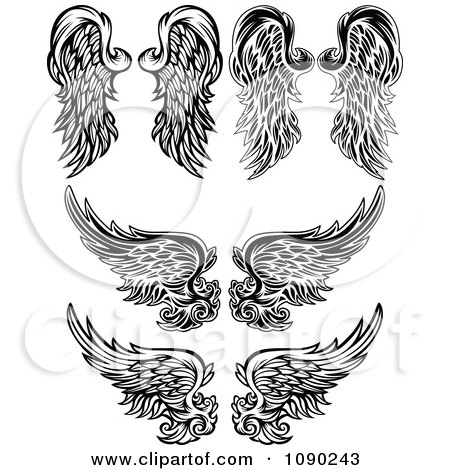 Tattoos Tribal Designs likewise How To Draw Chibi Angel Wings besides Free Vector Hand in addition Free Printable Border Designs blogspot besides 54606214209719328. on clipart basketball angel wings 1