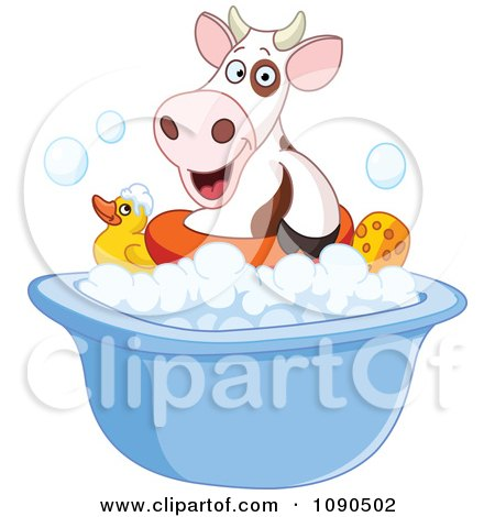 Relaxed Black Woman Taking A Luxurious Bubble Bath In A