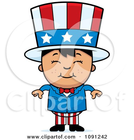 Royalty-Free (RF) Clipart Illustration of a Chubby Uncle ...