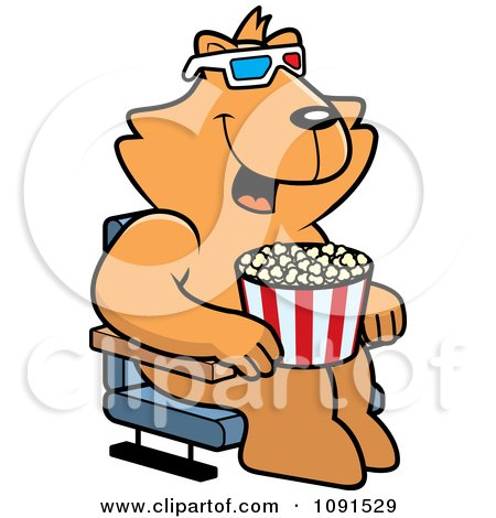 royalty free rf watching a movie clipart illustrations vector rh clipartof com watching movie clipart Movie Night Clip Art