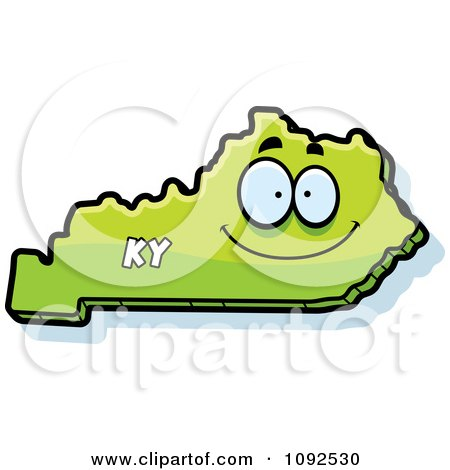 Clipart Happy Green Kentucky State Character - Royalty Free Vector on kentucky map outline, kentucky map 3d, kentucky map coloring sheets, kentucky map clipart, kentucky state bird cartoon, kentucky derby cartoon, kentucky map drawing, home cartoon,