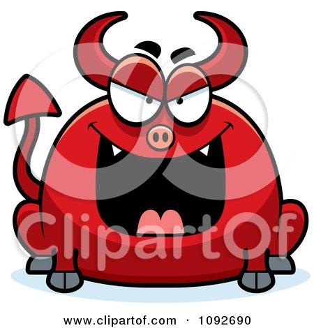 Chubby Evil Devil Posters, Art Prints