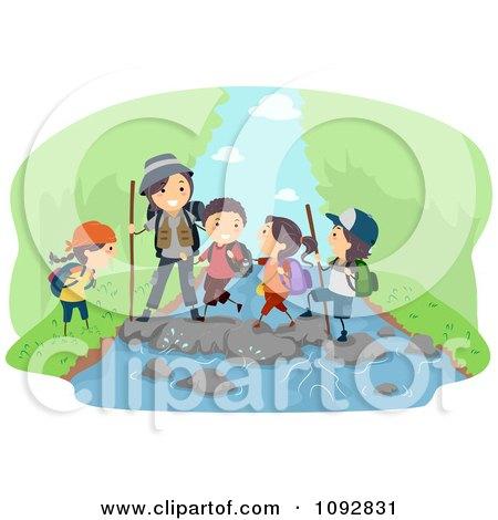 family hiking clipart - photo #14