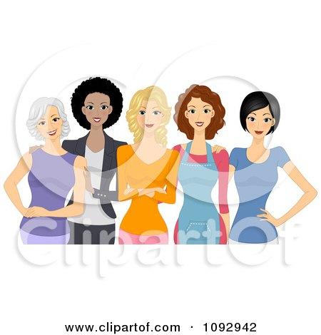 royaltyfree rf womens day clipart illustrations