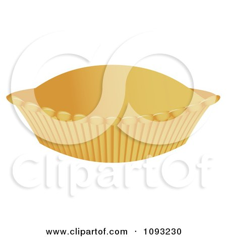 Clipart Baked Pie - Royalty Free Vector Illustration by Randomway
