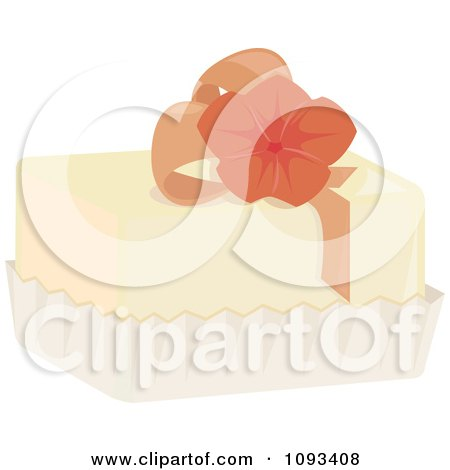Clipart Floral Petite Four 1 - Royalty Free Vector Illustration by Randomway