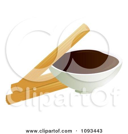 Royalty Free Rf Churro Clipart Illustrations Vector