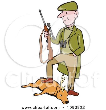 Deer Hunting Clip Art
