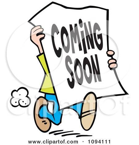 royalty free rf coming soon clipart illustrations vector graphics 1 rh clipartof com coming soon clip art animated photo coming soon clip art