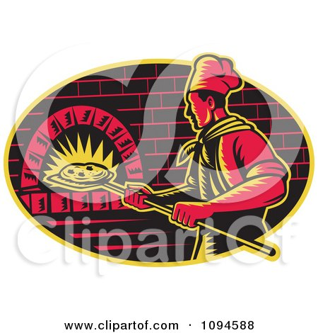 Clipart Pepperoni Pizza Character - Royalty Free Vector Illustration ...