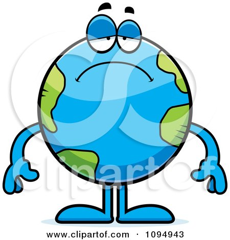 Royalty free rf depressed earth clipart illustrations vector preview clipart publicscrutiny Images